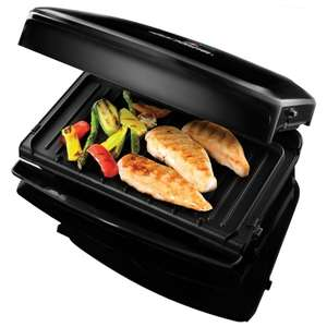 George Foreman Family grill with removable plates 5 portion £44.99 B&M