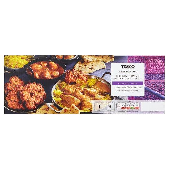 Tesco Korma / Tikka Masala Meal For 2 // Indian Tikka / Jalfrezi Meal For 2 - 1.45Kg - £5 @ Tesco