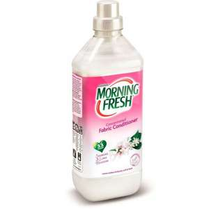 Morning Fresh Fabric Conditioner : Jasmine & Lime Blossom 33 Washes, 79p @ Poundstretcher
