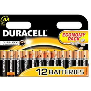 12X Duracell Duralock AA Batteries £3.79 ( more batteries see post ) @ Poundstretcher