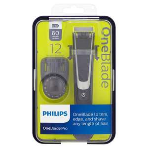 Philips Oneblade Pro Qp6510 Shaver And Trimmer - Save 1/3 Was £70.00 Now £46.66 @ Tesco