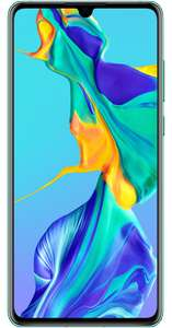 Huawei P30 128GB Aurora on Vodafone- Unlimited Mins/Texts 5GB Data - £24 a Month with £75 upfront @ uSwitch (24 Months)