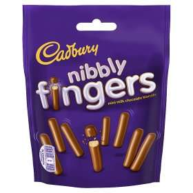Cadbury Nibbly Chocolate Mini Fingers Biscuits Found Instore @ Poundstretcher (Great Yarmouth Town Centre) £0.59