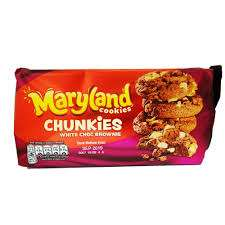 Maryland Cookies Big And Chunky White And Brownie 144g @ Poundstretcher Instore (Great Yarmouth Town Centre) - £0.45