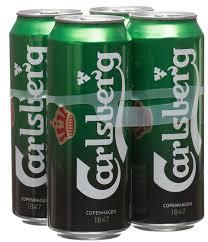 4 pack of Carlsberg only £2.50 @ ASDA