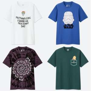 fa0a99ca Set of 2 Adults UT Graphic Collection T-shirts for £19.90 + Free C&C