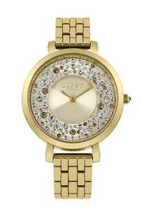 Lipsy Lp397 Ladies Gold Stainless Steel & Dial Watch 2 Year Warranty + Presentation Gift Box £19.99 @ ShopOnTime (5% off with news signup)