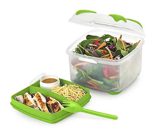 Smash Salad Box with Tray 1200ml NOW £6 (Prime) / £10.49 (non Prime) at Amazon