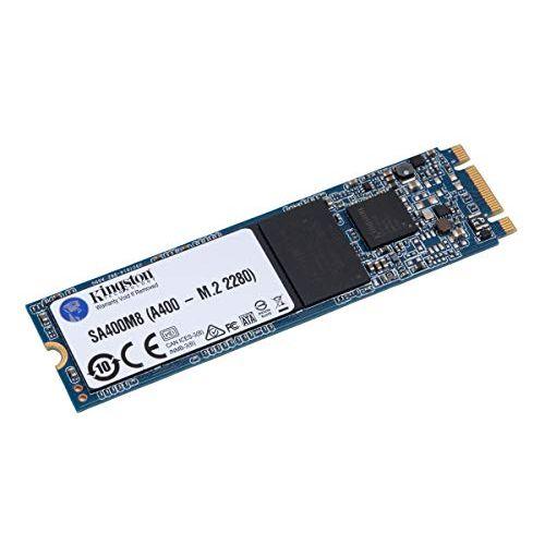 Kingston SSD Int 120GB A400 SATA M.2 Model: SA400M8/120G BLK  £19.61 at Kikatek