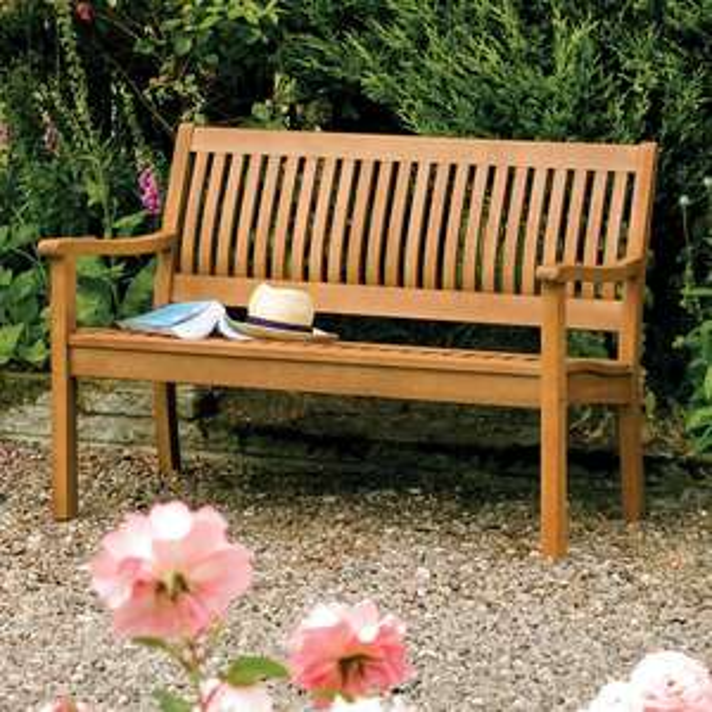 Rowlinson Willington 2-Seater FSC Hardwood Bench for £83.99 Delivered @ Amazon UK