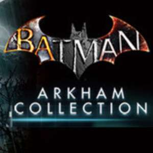 BATMAN: ARKHAM COLLECTION £12.49 on Steam store