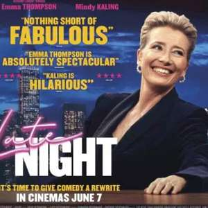 Free cinema tickets to Late Night (3rd June) at SFF