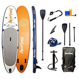 """AQUAPLANET 10ft 6"""" x 15cm MAX Stand Up Paddle board kit - £269 @ Amazon"""