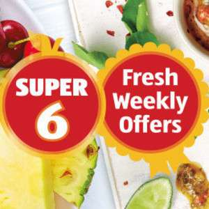 Aldi Super 6 from 23rd May £0.59