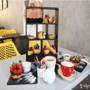Afternoon Tea for 2 People normally £34 now £19.75 at The Little Dessert Shop (11 Locations) via Wowcher