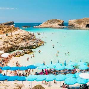 Flights to Malta from Cardiff and Return from Malta to Bristol 4 nights 21/08 to 25/08 £62.67 @ On The Beach