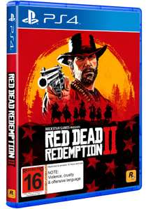 Red Dead Redemption 2 (PS4) £34.79 @ PS Store