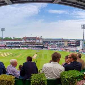 Kia Oval Cricket Match and Ground Tour with Afternoon Tea for Two £75 with code @ buyagift
