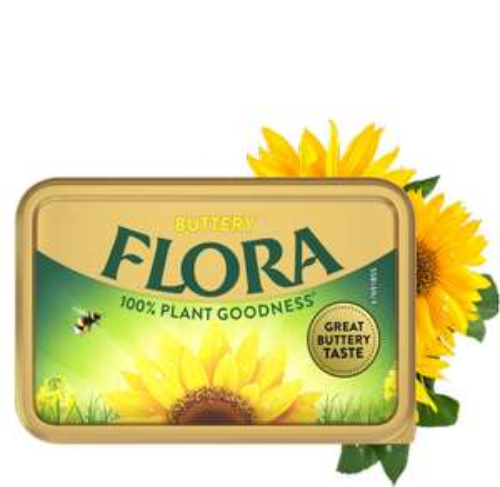 Flora Buttery Spread 1kg £2 @ Asda