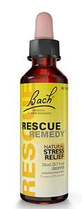 Bach Rescue Remedy 20ml £6 (+£4.49 non prime) @ Amazon or £5.70 on S&S