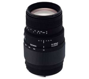 Sigma 70-300mm f/4-5.6 D Telephoto Zoom Macro Lens for Nikon - £79 at Currys/PC World for Click & Collect, 3 Year Guarantee