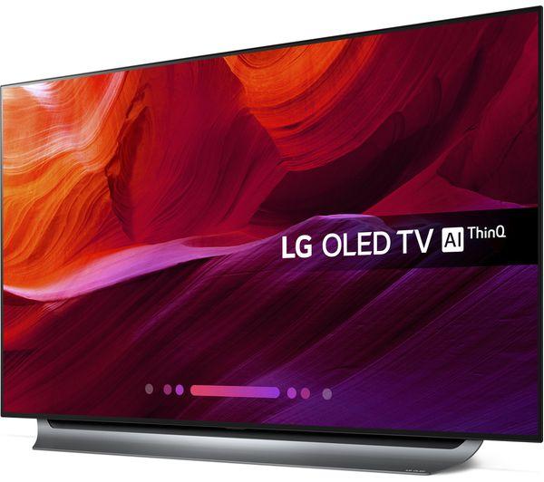 LG OLED55C8 55 inch OLED Dolby Atmos  inema HDRAlpha 9 Processor Ultra HD 4k  TV £1249 @ Hills Radio