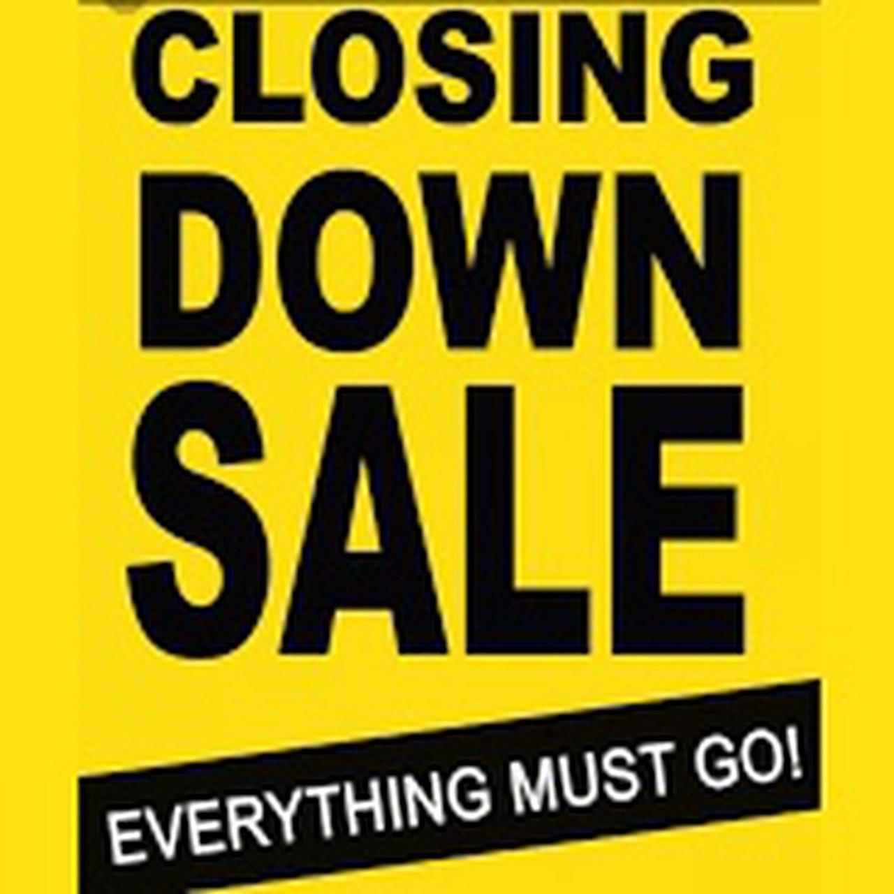 Homebase Cardiff Llanishen closing down sale