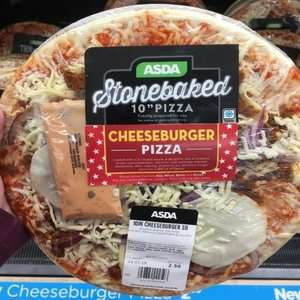New Limited Edition Cheeseburger Pizza with Sachet of Burger Sauce £2.50 instore @ Asda