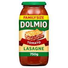 Dolmio Family Size 750g Lasagne Sauce Original Tomato and White / Smooth Bolognese plus others £1.29 @ Aldi in-store
