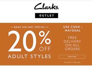 Clarks outlet Extra 20% off