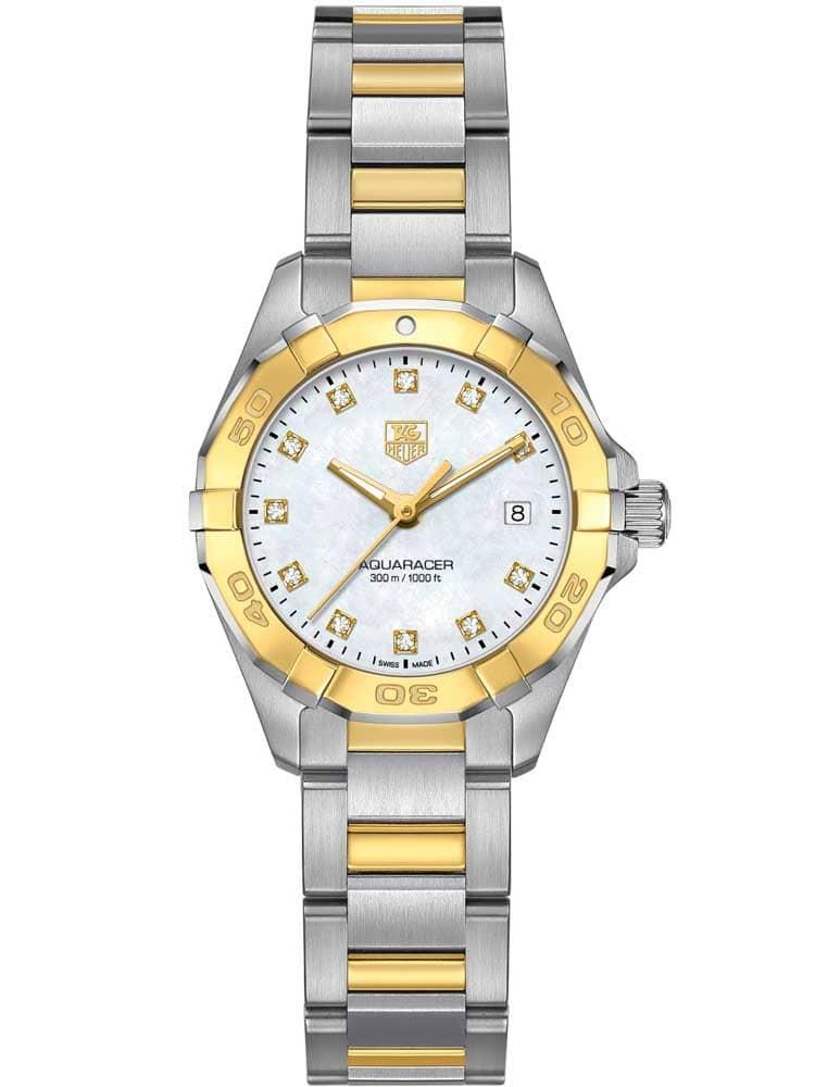TAG HEUER Aquaracer Diamond-Set Bracelet Watch WAY1451.BD0922 - £1,995 @ TH Baker