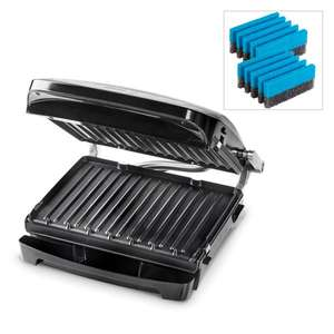 George Foreman Evolve 6 Portion Grill with Deep Dish 24002 with 2 x Cleaning Sponges 479160 - £99.99 / £102.98 delivered @ Ideal World TV