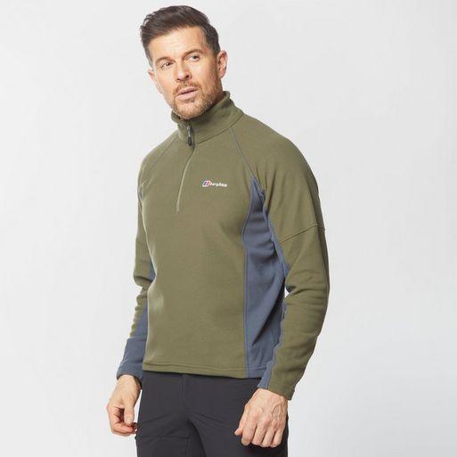 Berghaus Mens Hartsop Half Zip Fleece Khaki £20 + (£1 C&C) @ Millets