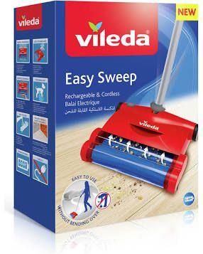 Vileda Easy Sweep Rechargeable Cordless Sweeper £5 @ Wilkos