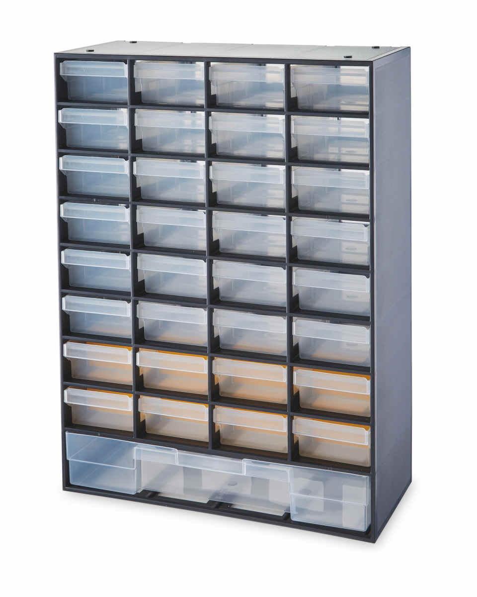 Workzone Drawer organisers - 17 drawer or 33 Drawer - 99p instore @ Aldi