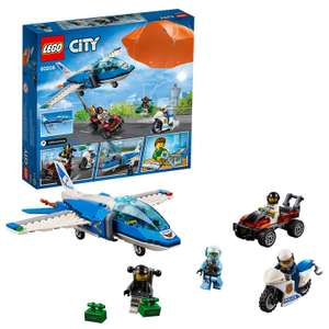 LEGO 60208 City Police Sky Police Parachute Arrest NOW £12.99 (Prime) £17.48 (Non Prime) with voucher at Amazon
