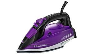 Russell Hobbs 2600w Colour Control Ultra Steam Iron with 50g/min steam output & 140g/min steam shot + 2 year guarantee £24.99 @ Argos
