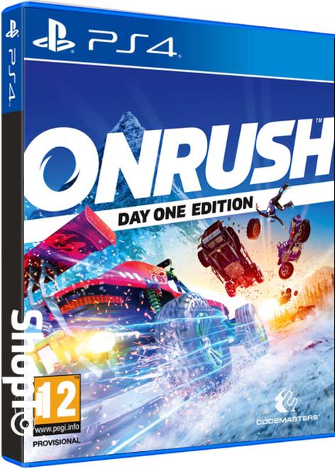 [PS4/Xbox One] Onrush Day 1 Edition + Additional Vortex Buggy Design + White Tiger Tombstone Design - £4.85 - Shopto