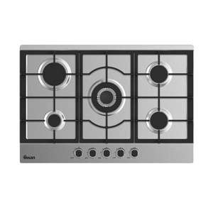 Swan Wide Gas Hob with Wok Burner - 75cm /  SXB75275SS £123.99 Delivered @ Very