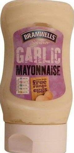Aldi Bramwells Flavoured Mayonnaise Garlic / Smokey Chipotle / Chilli / Peri Peri 250ml 59p @ Aldi
