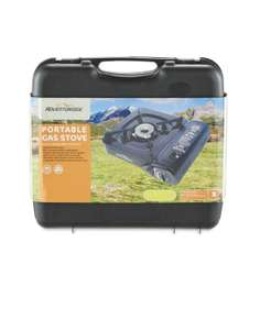 Adventuridge Portable Gas Cooker / Stove - £9.99 @ Aldi