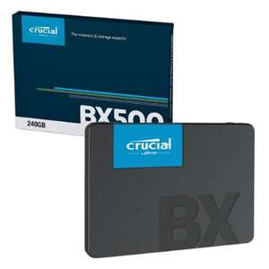 "Crucial BX500 3D NAND SATA III 2.5"" 240GB SSD Internal Solid State Drive for £24.99 ( 120 GB for £16.99) Delivered @ 7dayshop"