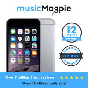 Apple iPhone 6 - 16GB 64GB 128GB - Unlocked SIM Free Smartphone Various Colours from £154.99 @ Music Magpie Ebay