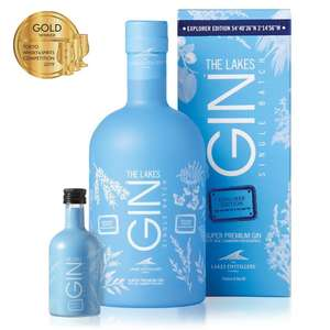 Lakes Explorer Gin - 70cl £24.99 instore at Lidl