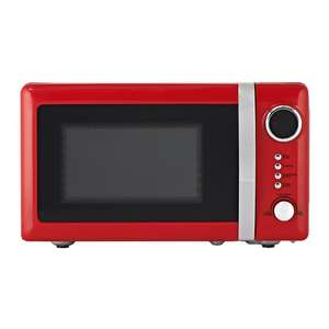 Wilko Colour Play Red 20L Microwave £27 @ Wilko (In-Store)