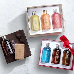 25% off Selected Molton Brown + Free delivery with gift box wrap and samples