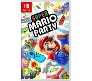NINTENDO SWITCH Super Mario Party £31.36 with 10% & 15% codes @ Currys Ebay