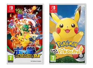 Pokken Tournament DX / Pokemon: Let's Go, Pikachu! (Nintendo Switch) - £29.06 delivered with double discount @ Currys eBay