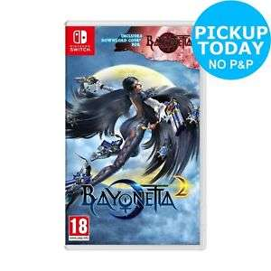 Bayonetta 2 with Bayonetta download code (Nintendo Switch) £29.74 (C+C) with code @ Argos eBay