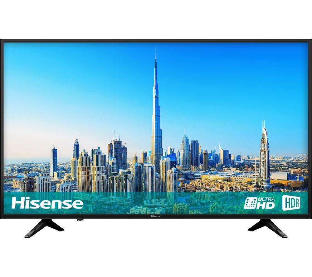 "HISENSE H55A6200UK 55"" Smart 4K Ultra HD HDR LED TV - Currys ebay - £339.15"